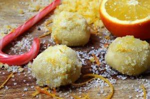 Orange Snowball Cookies Recipe from Platter Talk.