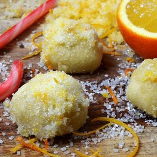 Orange Snowball Cookies Recipe from Platter Talk.