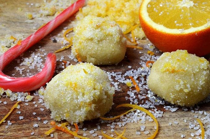 Orange Snowball Cookies Recipe Fresh And Lively From Platter Talk