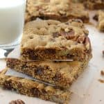Chocolate Pecan Bars Recipe from Platter Talk