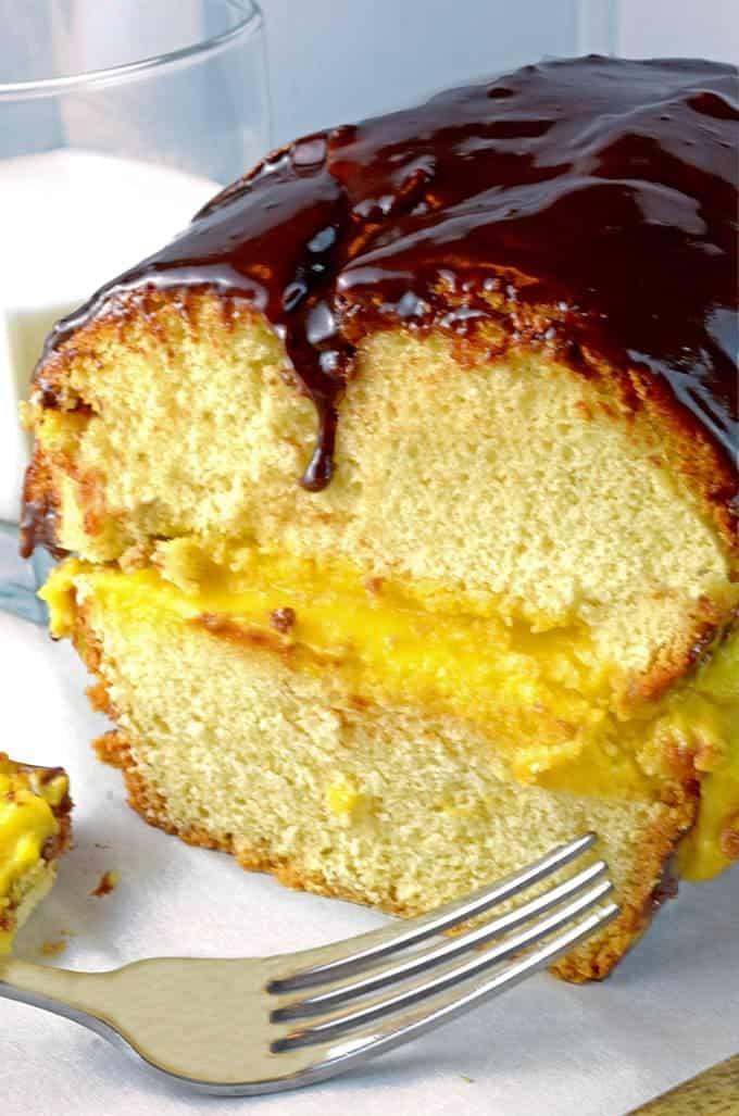 Boston Cream Cake Recipe