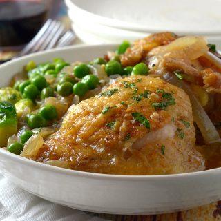 Garlic  & Bourbon Chicken