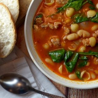 White Bean and Sausage Soup