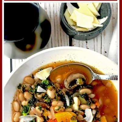 Winter Garden Vegetable Soup