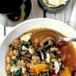Winter Vegetable Soup, A Warm and Healtny Winter Gardem in a Bowl