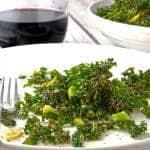 Roasted Kale Recipe by Platter Talk