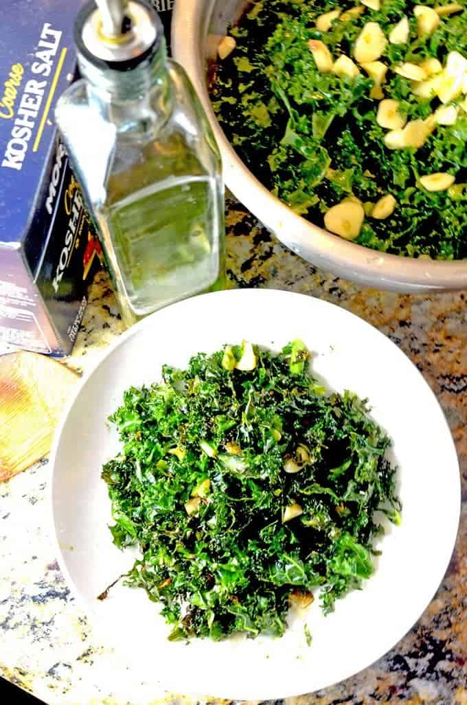 Roasted Kale Recipe by Platter Talk