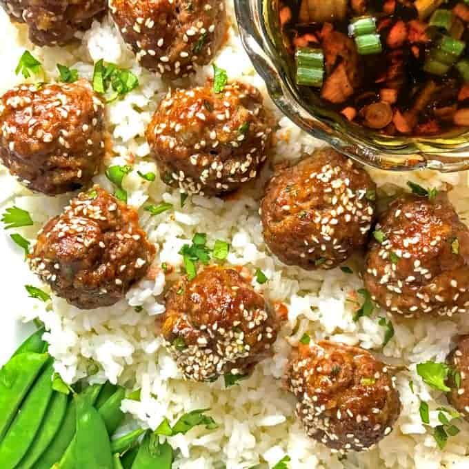 Asian Meatballs Rewcipe
