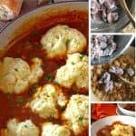 Hungarian goulash recipe process photos.