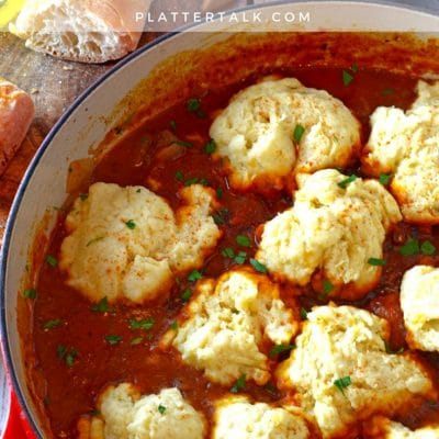 Hungarian Goulash with Steamed Dumplings