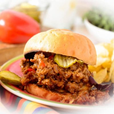 Easy Sloppy Joes Recipe