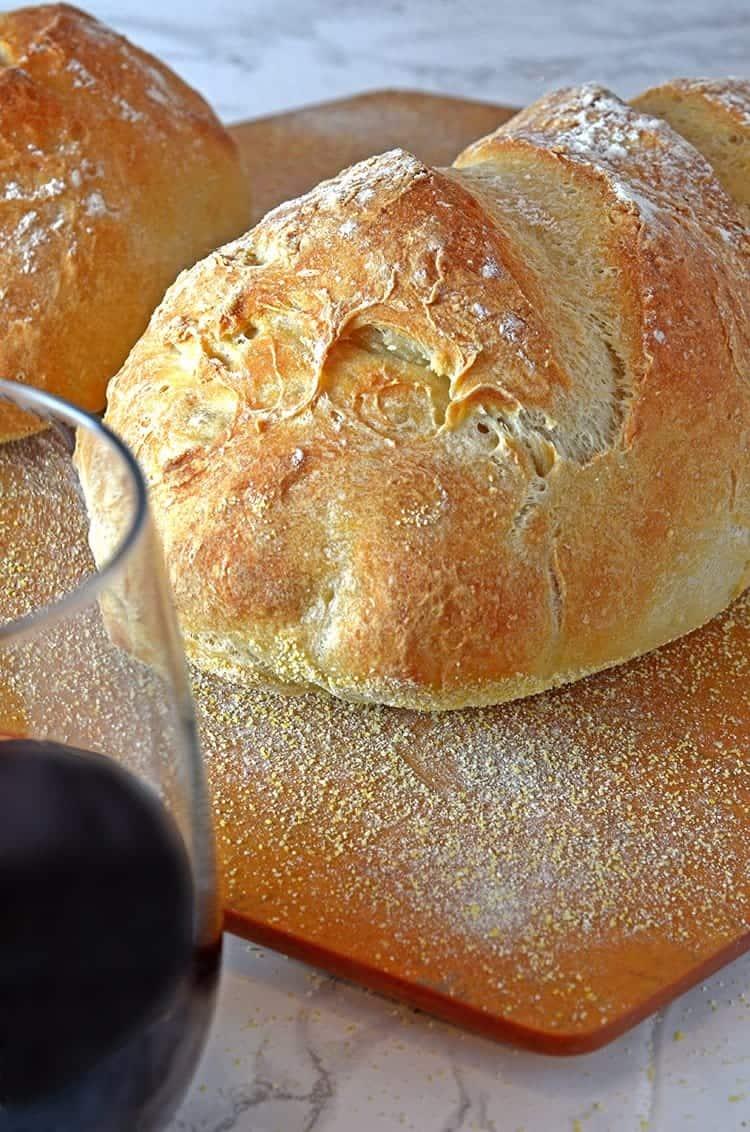 Homemade Crusty Bread Recipe Platter Talk Food Amp Recipes