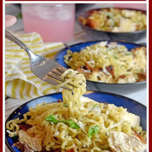 Chicken Ramen Noodles from Platter Talk