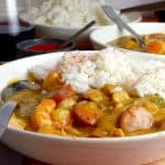 Sausage and Chiken Gumbo Recipe from Platter Talk.