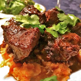 Five-Spice Dutch Oven Short Ribs with Root Vegetable Purée