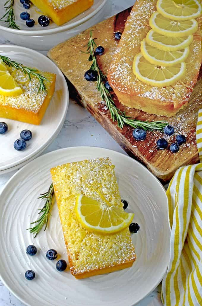 Lemon Loaf Cake Recipe from Platter Talk