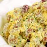 Bacon Ranch Potato Salad Recipe from Platter Talk
