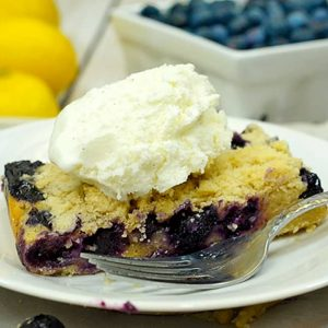 Blueberry Pie Bars recipe on Platter Talk