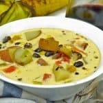Black Bean and Roasted Corn Chowder