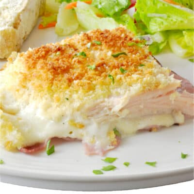 Chicken Cordon Bleu Casserole (Kid-Friendly Ranch Version)
