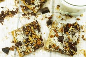 Try this magic cookie bars recipe by platter talk.