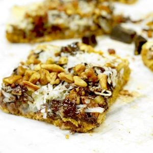 Magic Cookie Bars Recipe on Platter Talk
