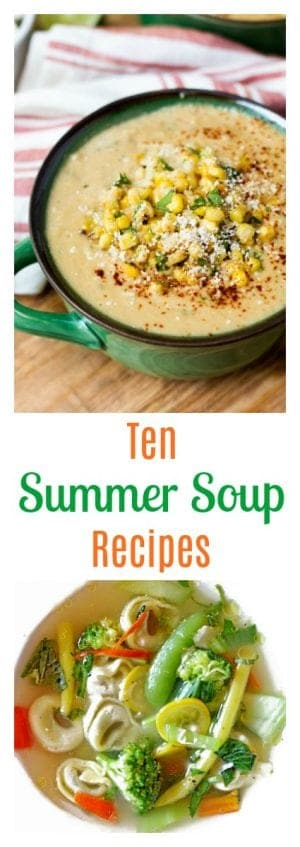 Don't miss this healthy and delicious collection of summer soup recipes from some of the best food sites out there!