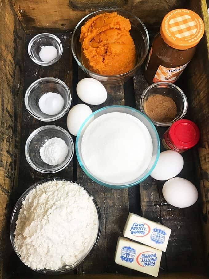 Slow Cooker Pumpkin Cake Ingredients