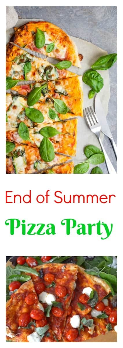 Don't miss this collection of delicious homemade pizzas and usher the season out in big taste with your very own End of Summer Pizza Party!
