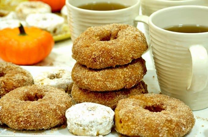 Baked Pumpkin Donuts Easy Recipe