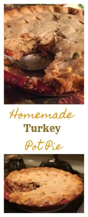 Make the magic of the holidays last just a little longer with a little of your own magic in the kitchen, with this Homemade Turkey Pot Pie and Easy Homemade Pie Crust Recipe.