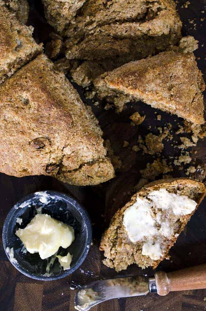 whole wheat Irish Soda Bread recipe from Platter Talk