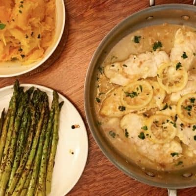 Healthy Chicken Francese