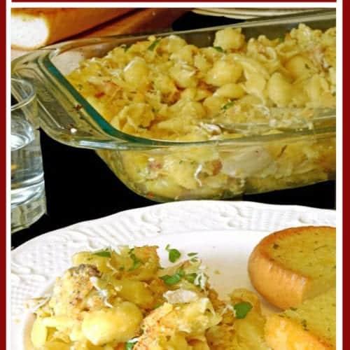 Leftover Chicken Casserole Recipe