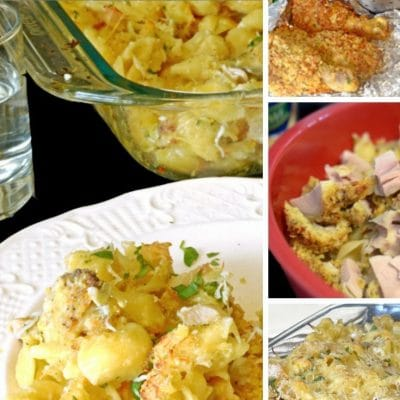 Leftover Chicken Recipe for Crispy Shells Casserole