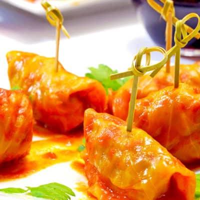 Golumpki (Gołąbki, Stuffed Cabbage)