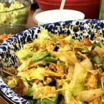 Dorito taco salad is a great joice for pot luck work ideas.