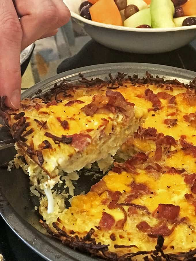 This is a gluten-free quiche.