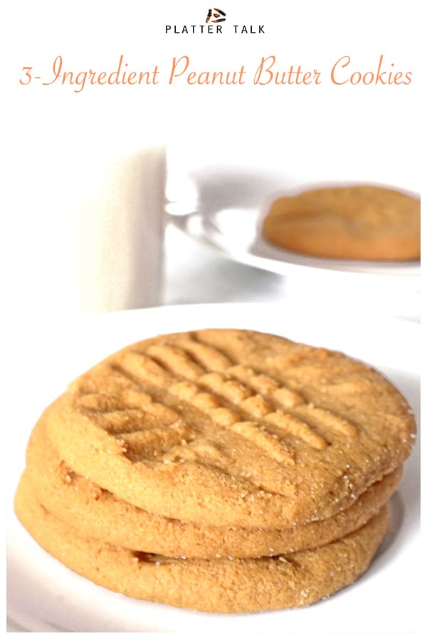 Easy Cookie Recipe on Platter Talk food blog