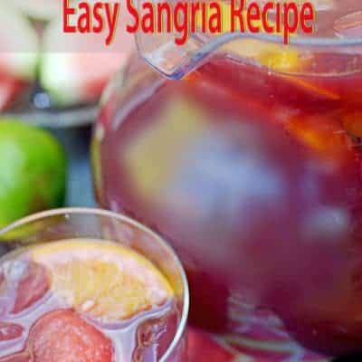 Easy Sangria  Recipe