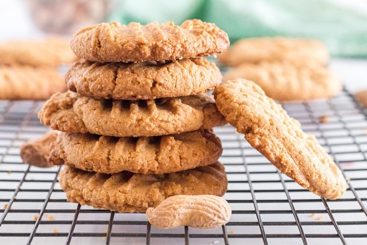 3 Ingredient Peanut Butter Cookies How To Make Cookies Platter Talk