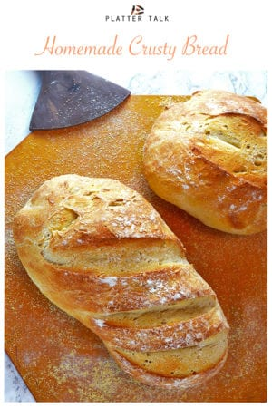 Homemade Crusty Bread Recipe