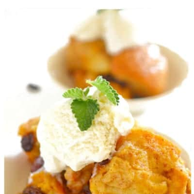Crock Pot Bread Pudding