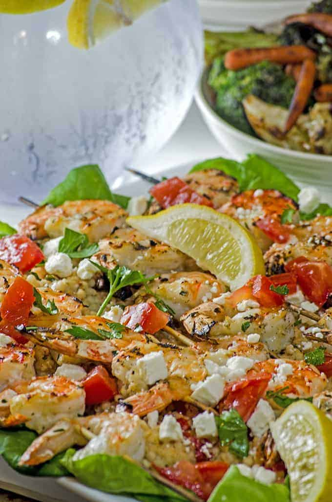 Try this Greek-Style grilled shrimp from Platter Talk.
