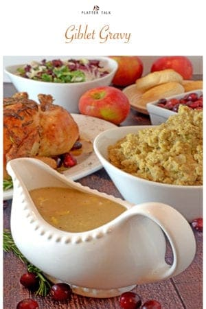 Easy giblet gravy with chicken