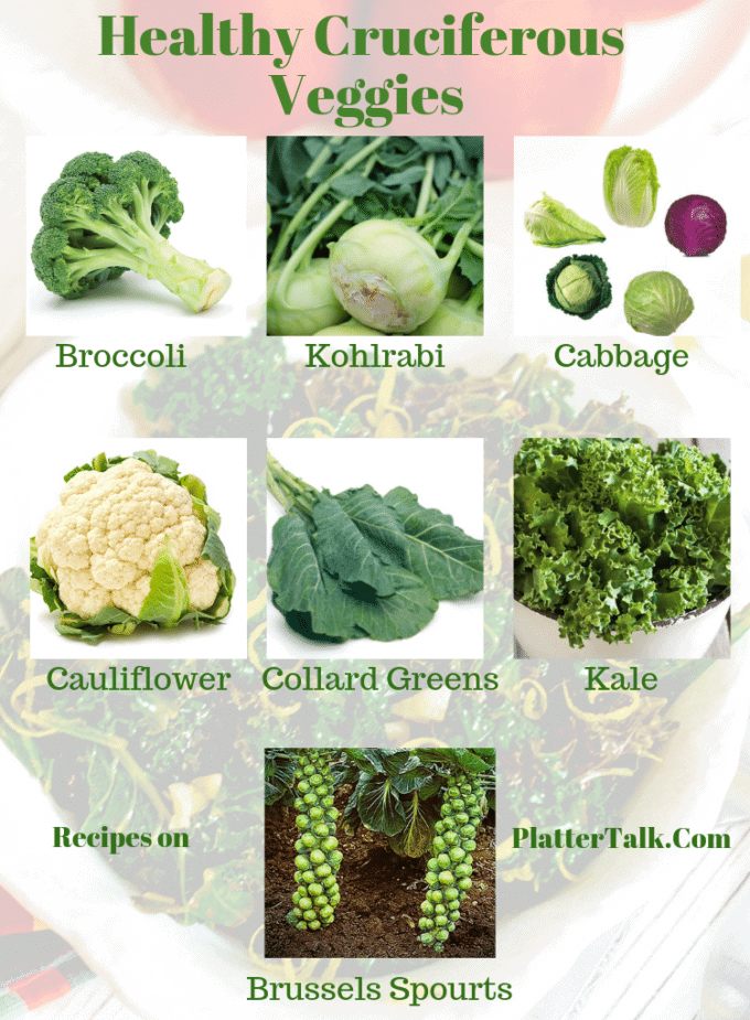 photo examples of cruciferous vegetables