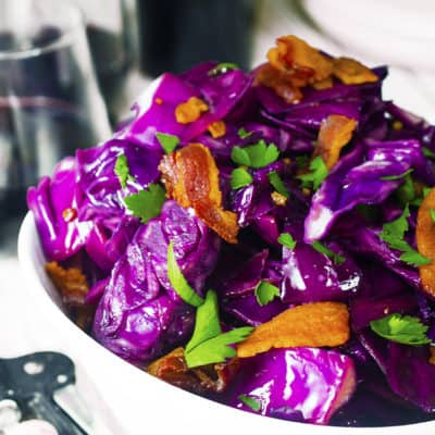 Make this fried cabbage recipe in 20 minutees.