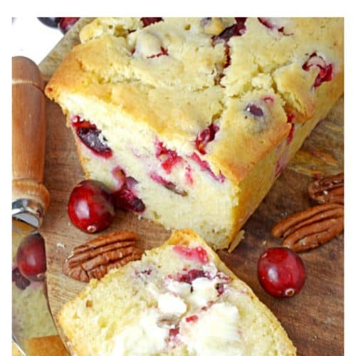 Cranberry Bread. from Platter Talk