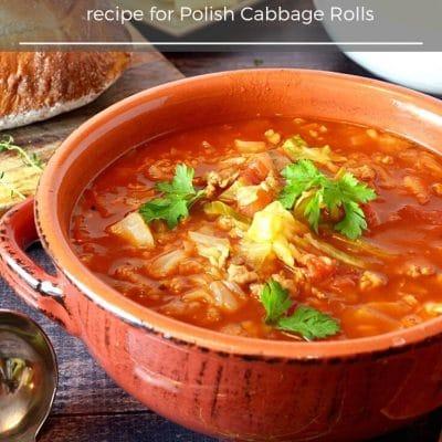 Cabbage Roll Soup (Golumpki Soup)