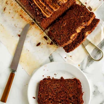 Chocolate cake is a chocolate banana bread.